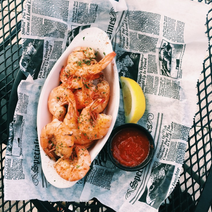 Local peel and eat shrimp from Reds
