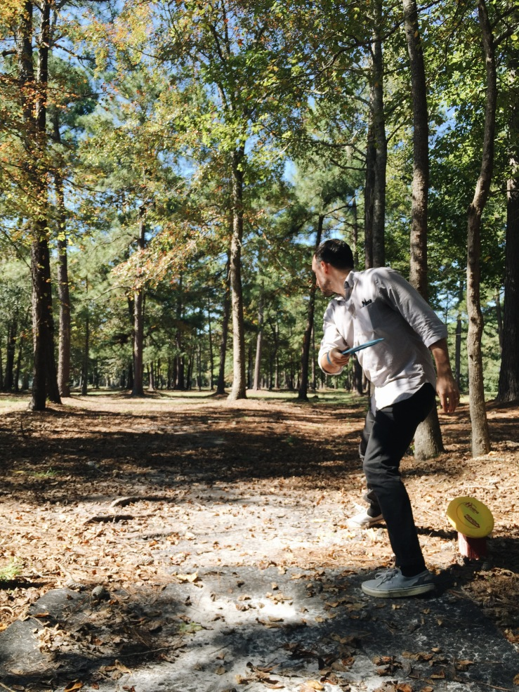 When in South Carolina, play 18 hours of frisbee golf