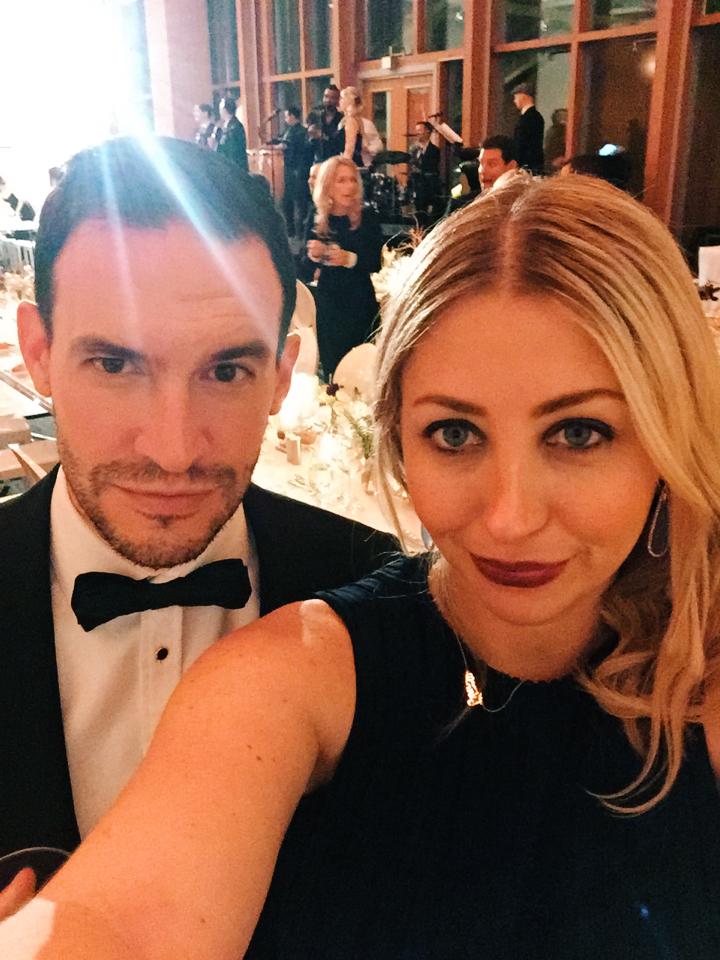 Black tie selfie at Art Gallery of Ontario